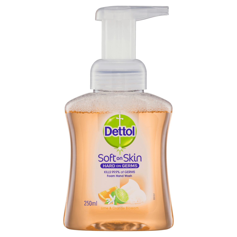 Dettol Foam Hand Wash Lime & Orange Blossom Pump