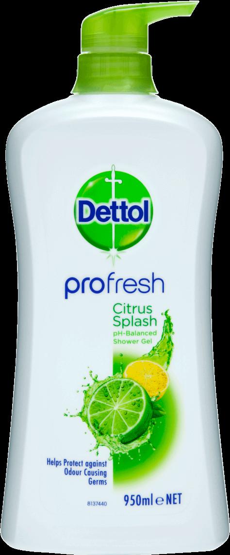 Dettol Profresh Shower Gel Citrus Splash