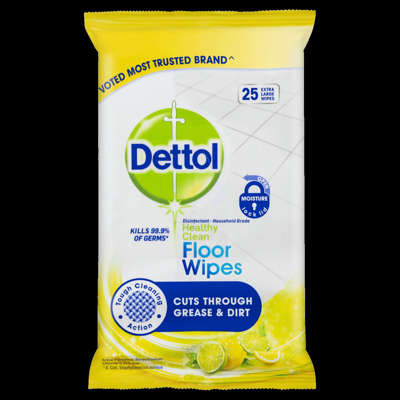 Dettol Antibacterial Floor Cleaning Wipes