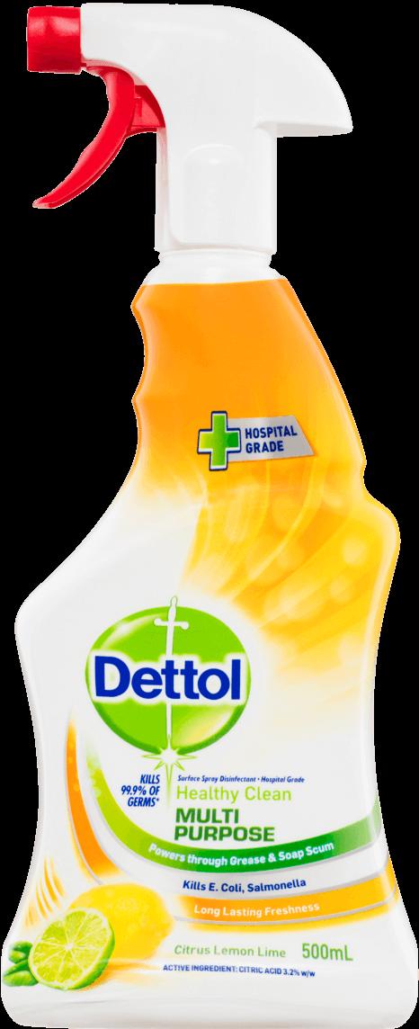 Dettol Healthy Clean Multipurpose Trigger Lemon & Lime