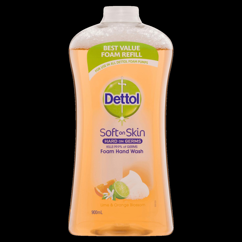 Dettol Foam Hand Wash Lime & Orange Blossom Refill