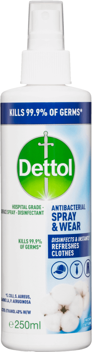 Dettol Antibacterial Spray & Wear Fresh Cotton