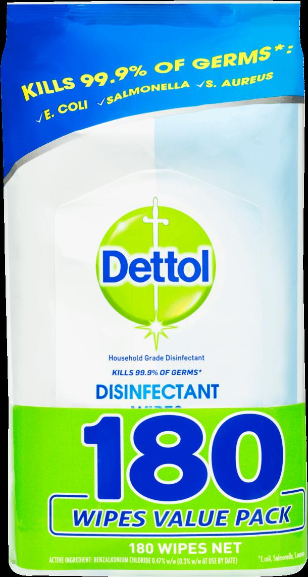 Dettol Antibacterial Disinfectant Wipes