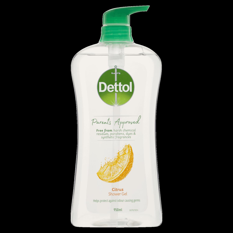 Dettol Parents Approved Shower Gel Citrus
