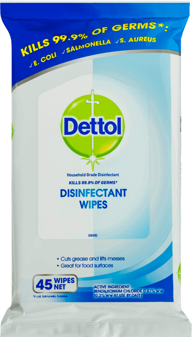 Dettol Anti-Bacterial Surface Wipes Fresh Household Disinfectant