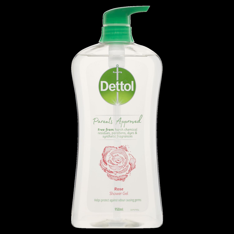 Dettol Parents Approved Shower Gel Rose