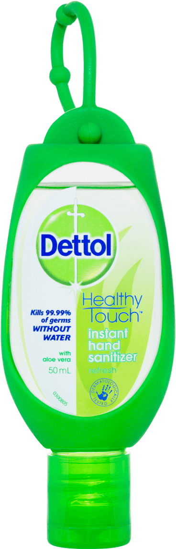 Dettol Antibacterial Instant Hand Sanitiser Refresh Green Clip