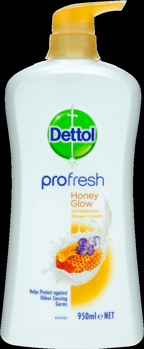 Dettol Profresh Shower Gel Honey Glow
