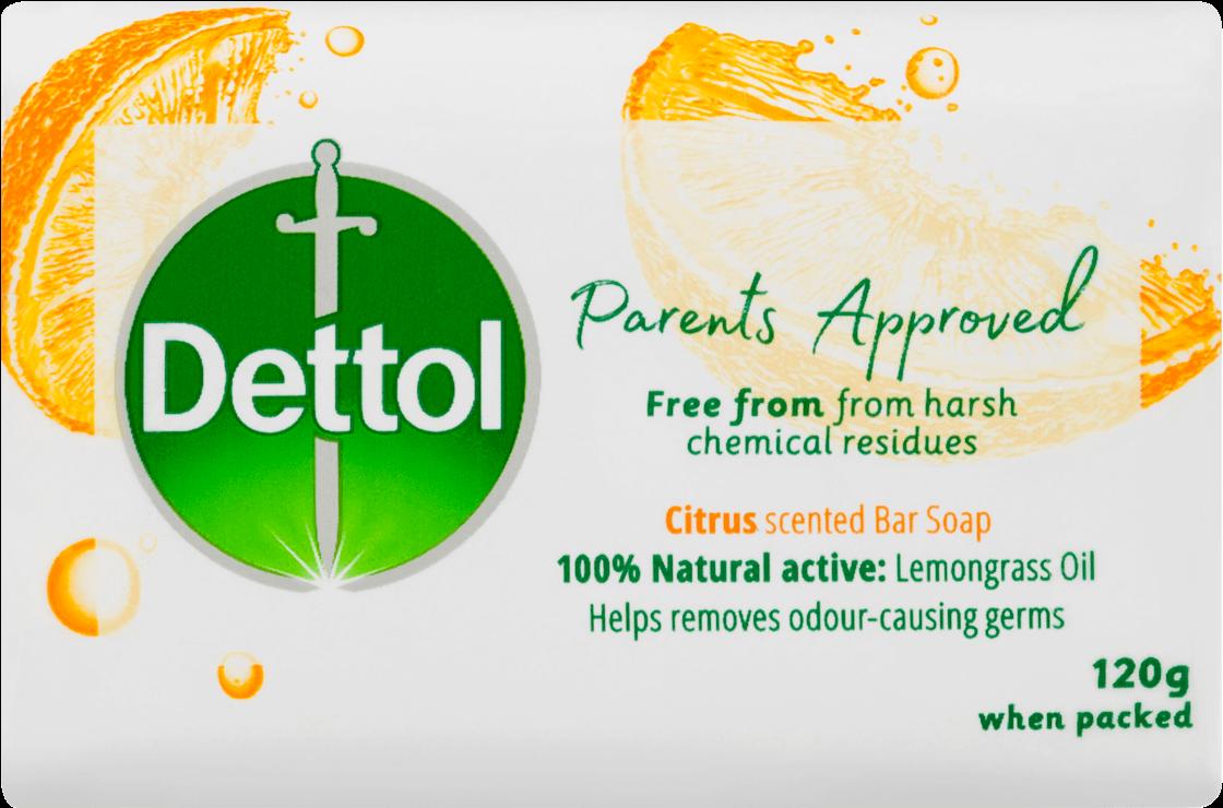 Dettol Parents Approved Bar Soap Citrus