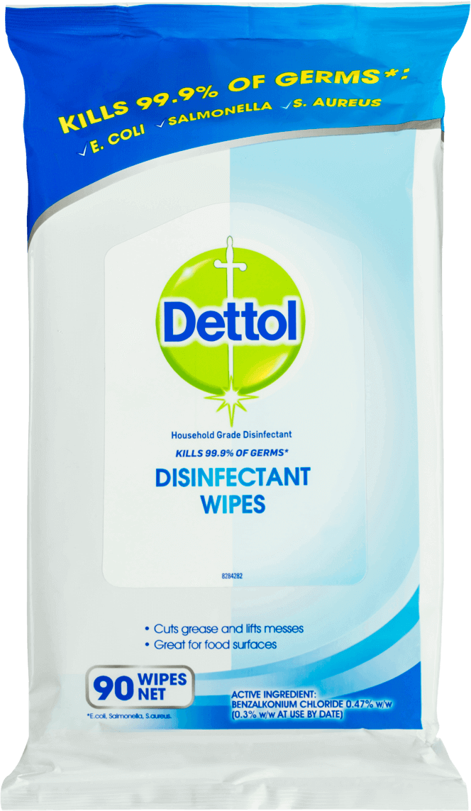 Dettol Antibacterial Surface Wipes Fresh