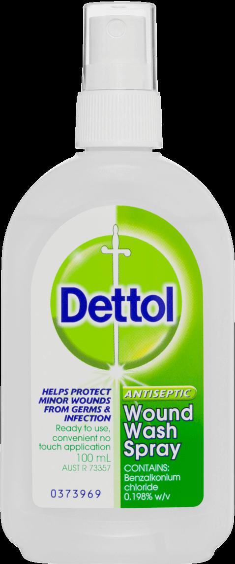 Dettol Antiseptic Wound Wash Spray